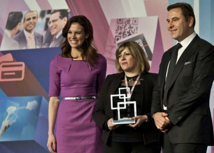Asiacell receives the award at the GSMA